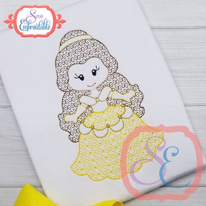 Little Princess 5 Motif Design, Embroidery