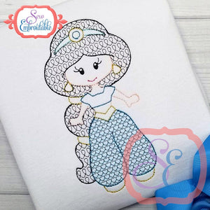Little Princess 6 Motif Design