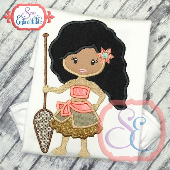 Little Princess 17 Applique - embroidery-boutique