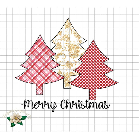 Merry Christmas PNG Printable - embroidery-boutique