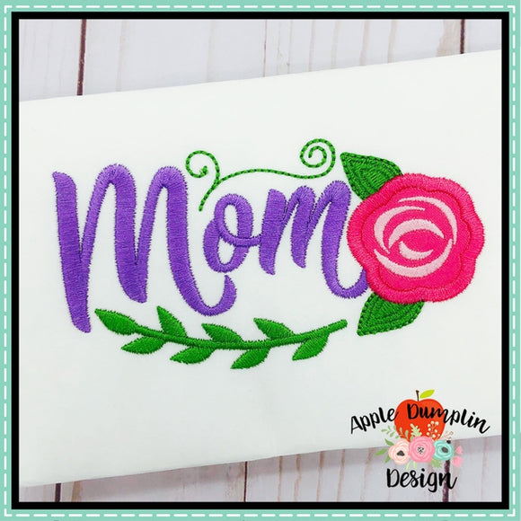 Mom Applique Design