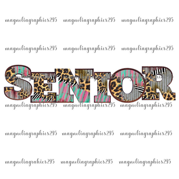 Senior Printable Design PNG