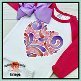 Sketch Swirl Heart Embroidery Design - embroidery-boutique