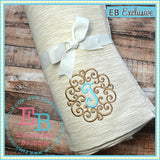 Swirled Monogram Alphabet - embroidery-boutique