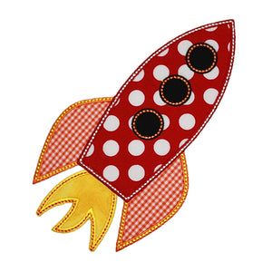 Rocket Applique