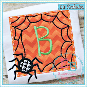 Spider Patch Applique, Applique