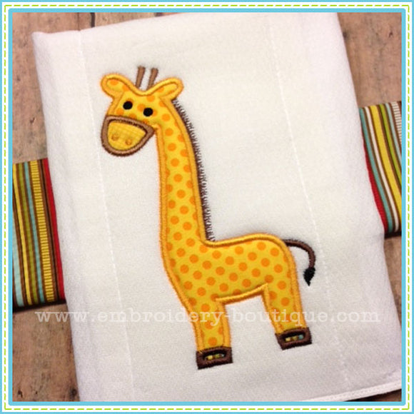 Giraffe 2 Applique - embroidery-boutique