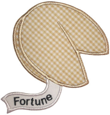 Fortune Cookie Applique