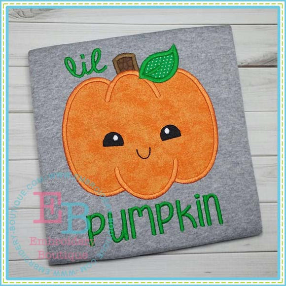 Little Pumpkin Applique, Applique