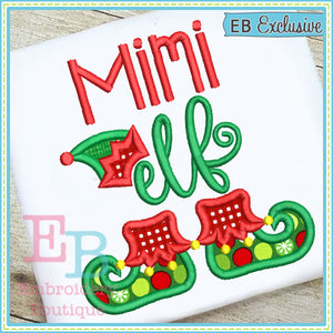 Mimi Elf Applique - embroidery-boutique