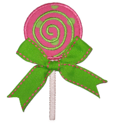 Lollipop Applique - embroidery-boutique