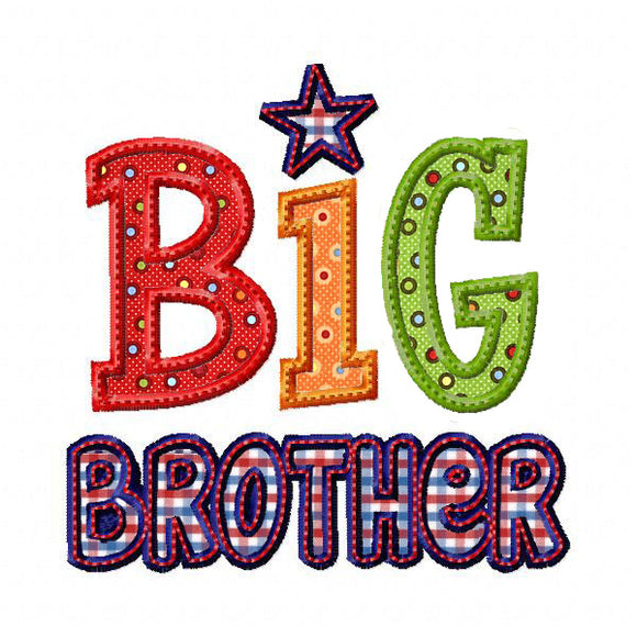 Big Brother 2 Applique - embroidery-boutique
