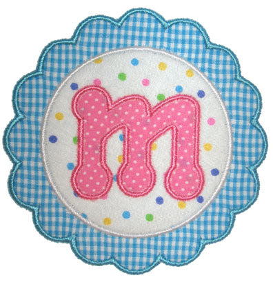 Scalloped Patch Applique