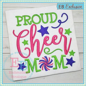 Proud Cheer Mom Design