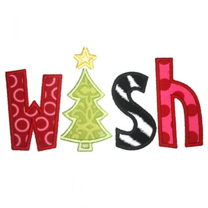 Wish Applique - embroidery-boutique
