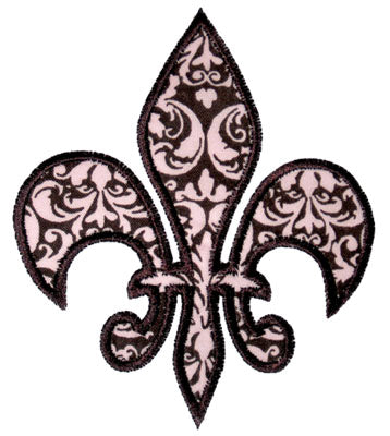 Fleur De Lis Applique - embroidery-boutique