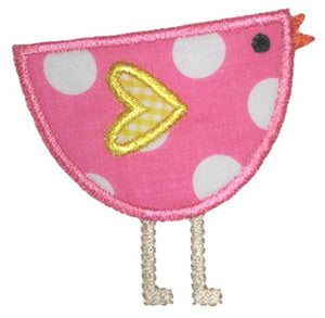 Tweet Bird Applique