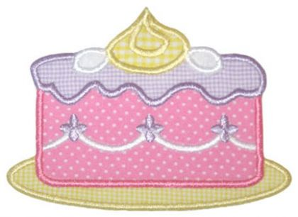 Cake Applique - embroidery-boutique