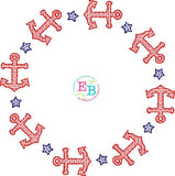 Anchor Circle Design