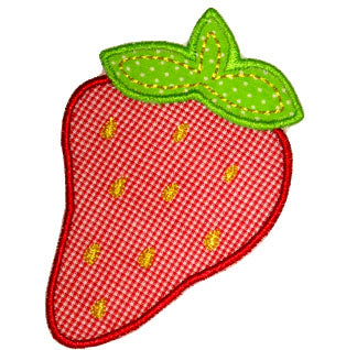 Strawberry Applique - embroidery-boutique