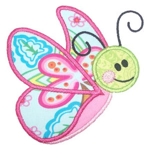Butterfly Applique - embroidery-boutique