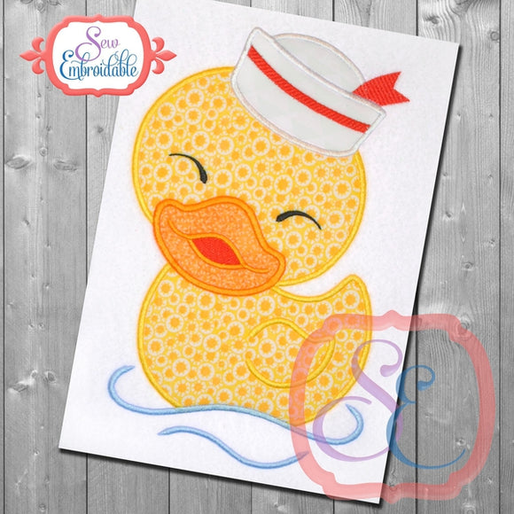 Little Ducky Boy Applique - embroidery-boutique