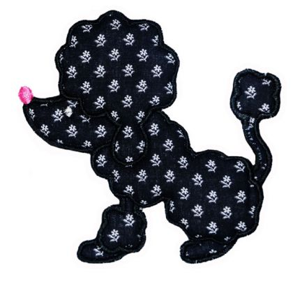 Poodle Applique - embroidery-boutique