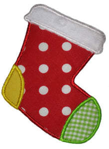Stocking Applique - embroidery-boutique