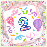 Balloon Frame Applique, Applique