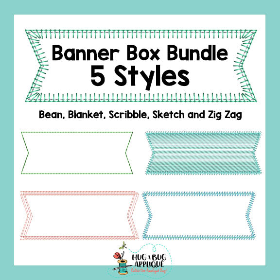 Banner Box Bundle-Embroidery Boutique