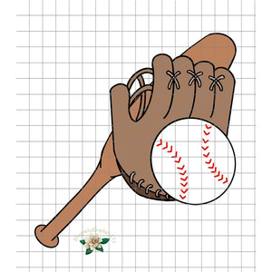 Baseball PNG Printable Design - embroidery-boutique