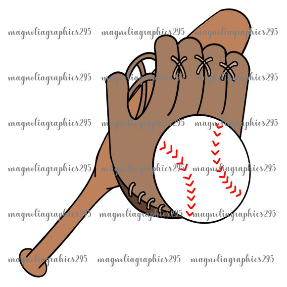 Baseball Printable Design PNG-Embroidery Boutique