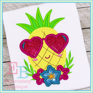 Pineapple Face Applique
