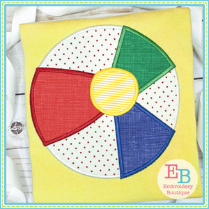 Beach Ball Satin Applique-Embroidery Boutique