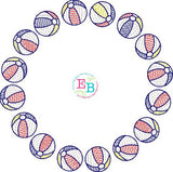 Beach Ball Circle Design