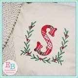 Berry Laurel Embroidery Design - embroidery-boutique