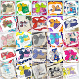 Big Bow 50 States Bean Stitch Applique Bundle, Applique
