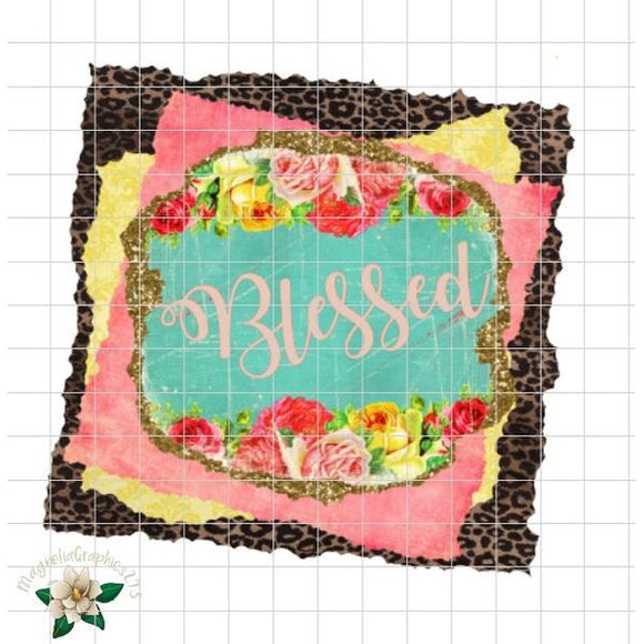 Blessed Printable Design - embroidery-boutique
