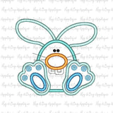 Bunny Teeth Satin Stitch Applique Design-Embroidery Boutique