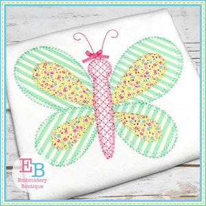 Butterfly Blanket Stitch Applique - Embroidery Boutique