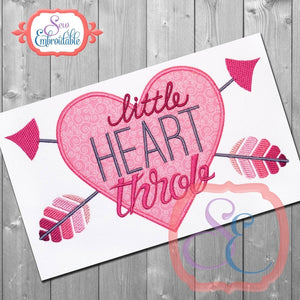 Little Heart Throb Applique