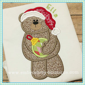 Ornament Bear Applique