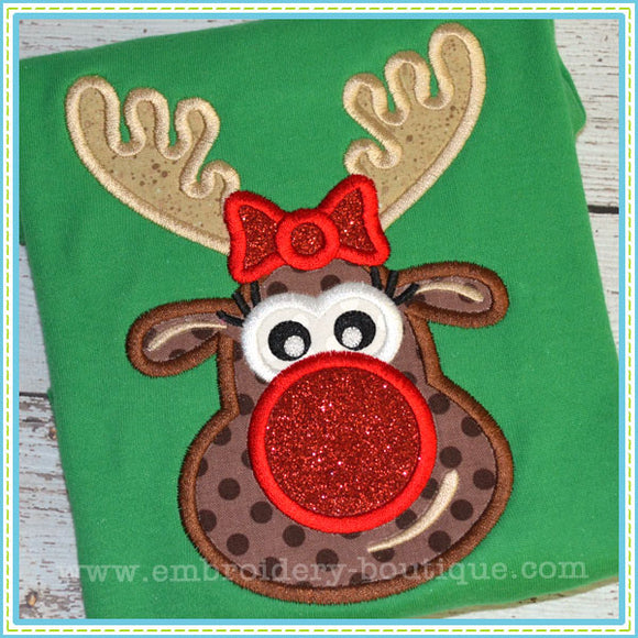 Mrs. Rudy Applique, Applique