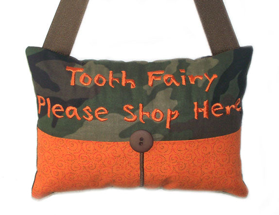Tooth Fairy Pillow Boy