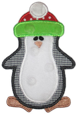 Penguin Applique - embroidery-boutique