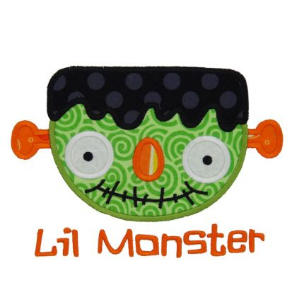 Lil Monster - embroidery-boutique
