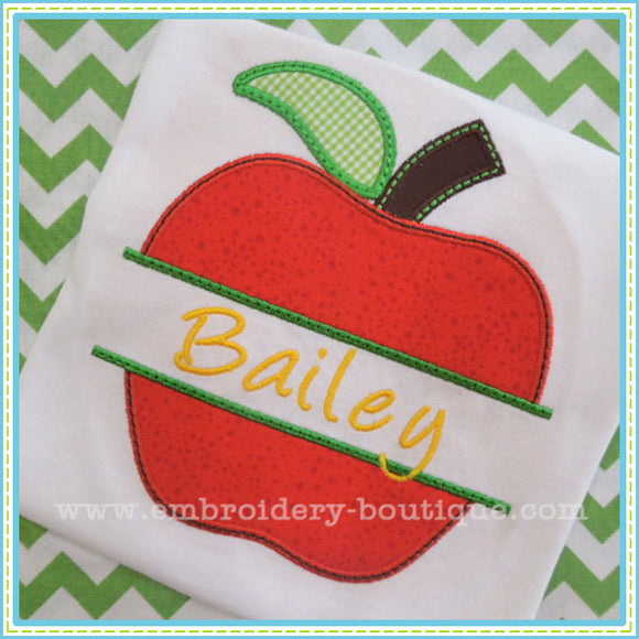 Split Apple Applique, Applique