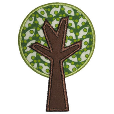 Simple Tree Applique