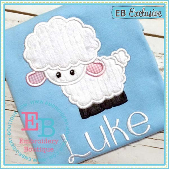 Lamb Applique - embroidery-boutique