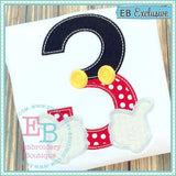 Magical Hands Applique Number Set, Applique Number Set